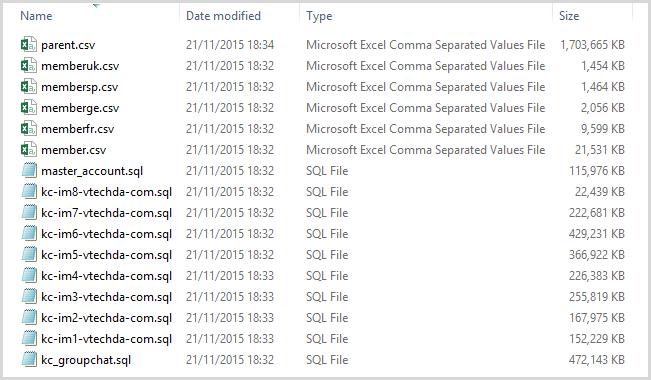 vtech leak database - VTech piraté, des milliers de données et de photos envolées