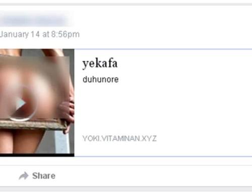 Un scam partage du porno sur vos groupes Facebook