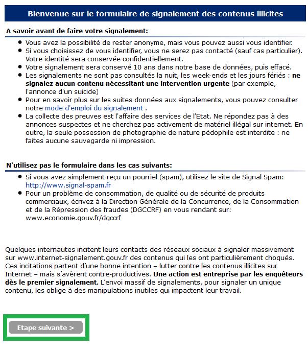 signalement1 - Pourquoi et comment signaler un contenu illicite via PHAROS ?