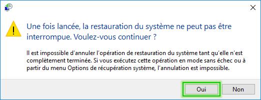 Tutorial_Restauration_système_confirmation
