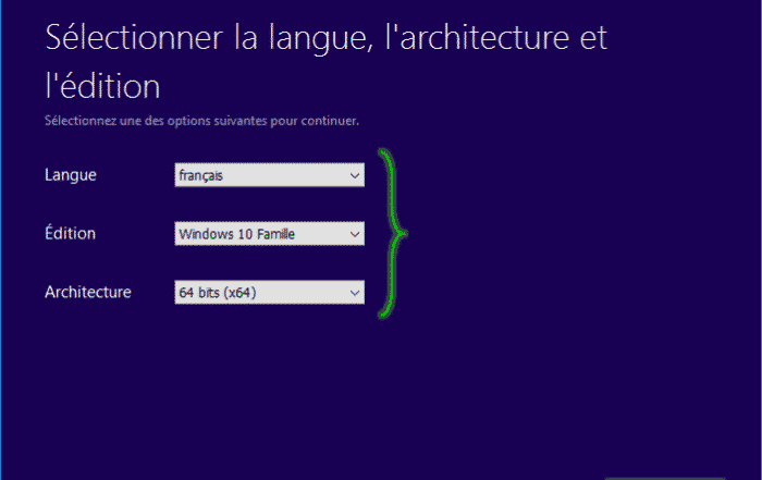 Tutorial_installaltion_windows_10_selection_version_système_exploitation