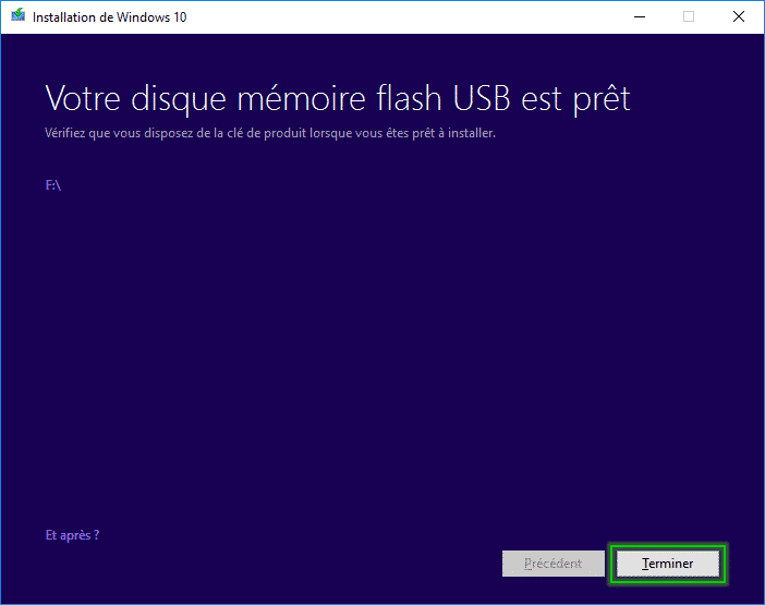 Tutorial_installaltion_windows_10_terminer