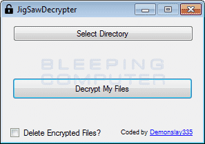 jigsaw decrypter - JigSawDecrypter