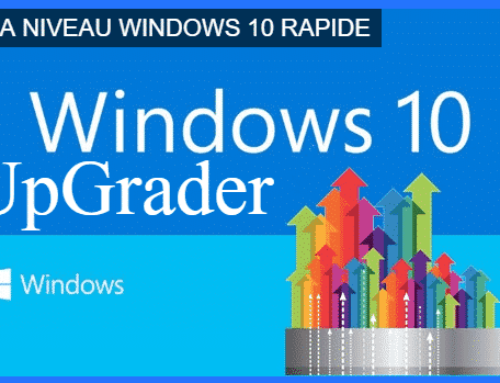 Mettre à jour Windows 10 avec Windows Upgrader