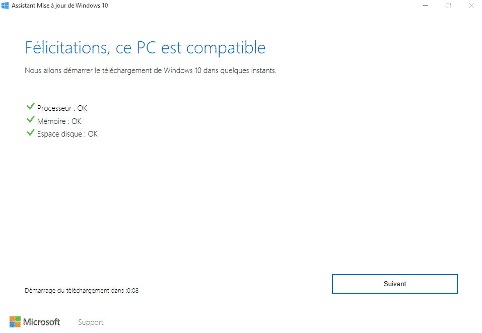 windows upgrader pc compatible
