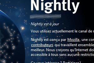 Firefox Nightly (Linux – Version 10)