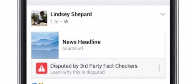 """""""Fake news"""" - Facebook et Google s'unissent à la presse pour traquer les intox - 2017 - 2018"""