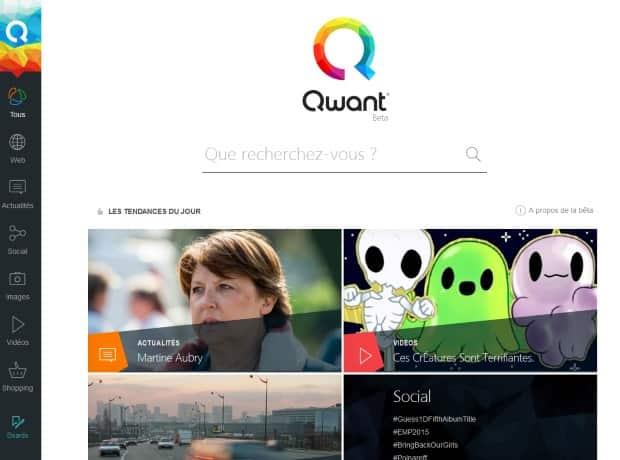 Moteur de recherche : le français Qwant lève 18 millions d'euros - 2017 - 2018