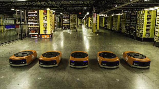Amazon : l'automatisation n'a pas à détruire des emplois Stratégie, Robotique, Emploi, E-commerce, Amazon