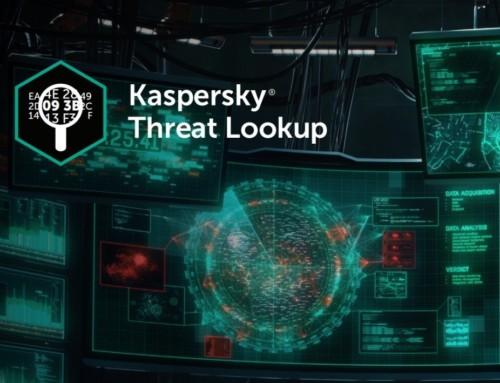 Kaspersky: +1 Services de renseignements aux entreprises : présentation de nos Rayons X pour les Cybermenaces !
