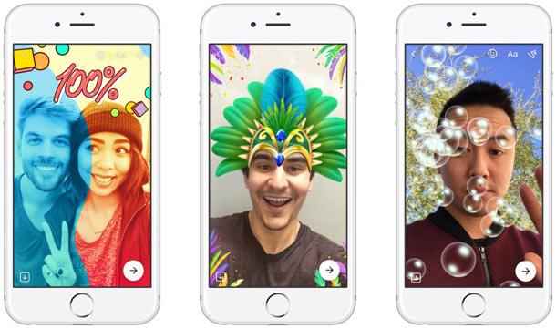 facebook messenger day ressemble comme deux gouttes deau a snapchat stories - Facebook Messenger Day ressemble comme deux gouttes d'eau à Snapchat Stories