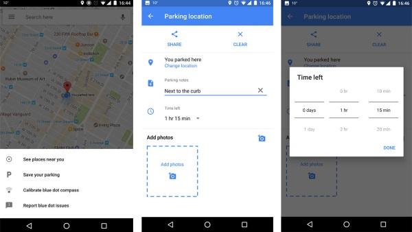 Google Maps vous aidera à retrouver votre place de parking Google Maps