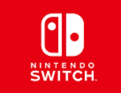 Nintendo Switch et le petit bonhomme en mousse