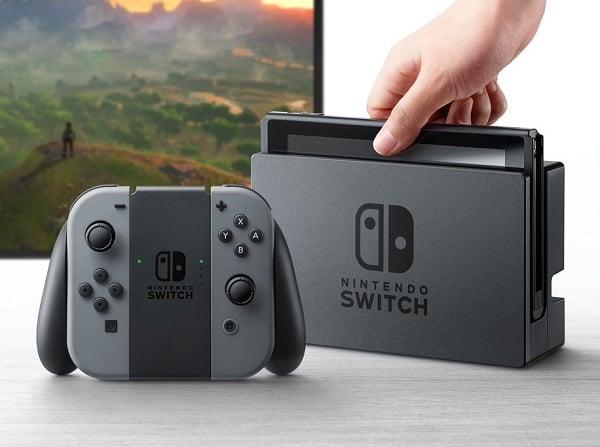 Nintendo Switch : 2,7 millions d'exemplaires vendus Nintendo Switch, Nintendo