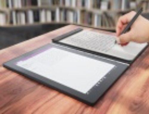 Test – Yogabook de Lenovo : la prise de notes réinventée ?