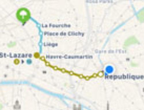 Les plans et itinéraires RATP arrivent dans Apple Plans