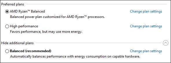 Windows 10 64 bits : les derniers pilotes de chipset AMD Ryzen visent l'efficacité énergétique - 2017 - 2018