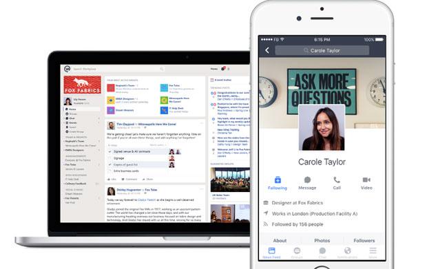 Facebook Workplace : une version freemium en approche - 2017 - 2018