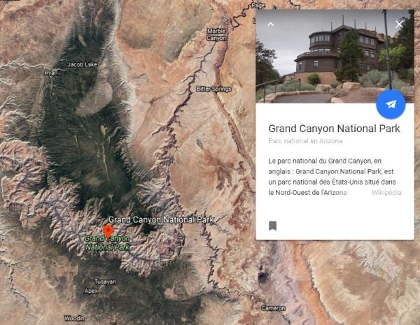 Google Earth se refait une beauté à base d'IA Google
