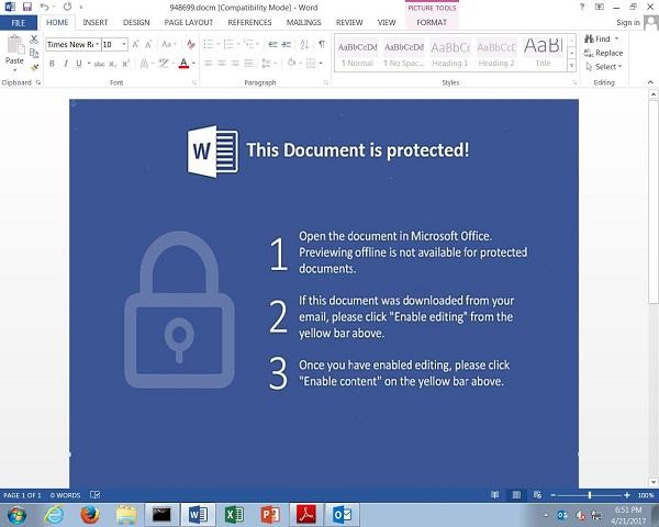 Locky : une nouvelle vague d'e-mails malveillants détectée Sécurité, Cybercriminalité, Cyberattaques