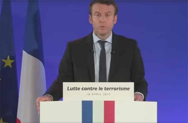 macron linternet est devenu un element essentiel du terrorisme - Macron : imbroglio autour des données chiffrées