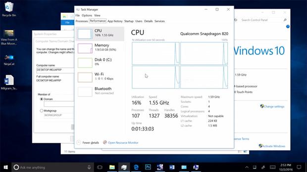 Nouveaux PC Windows 10 sur processeurs ARM : sortie au 4e trimestre Windows 10, Qualcomm, Microsoft, ARM