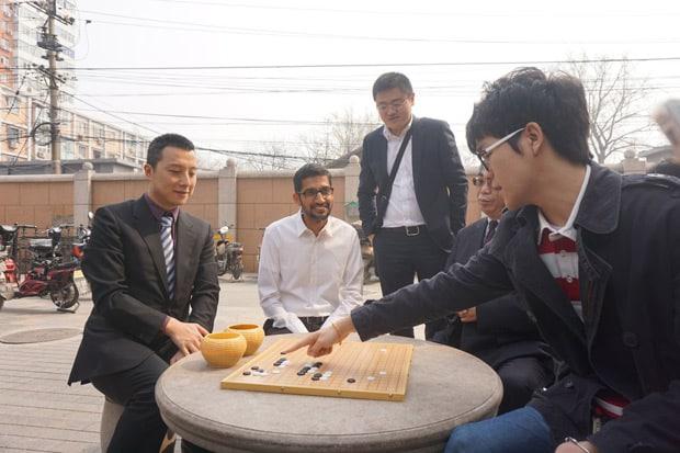 AlphaGo triomphe de nouveau de l'homme - 2017 - 2018