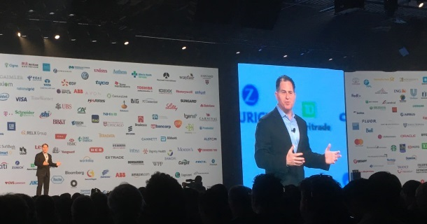 "Dell EMC World - Michael Dell : ""Le cloud n'est pas un endroit, c'est une façon de faire de l'IT"" EMC, Dell, Cloud Monitor, Cloud computing, Cloud"