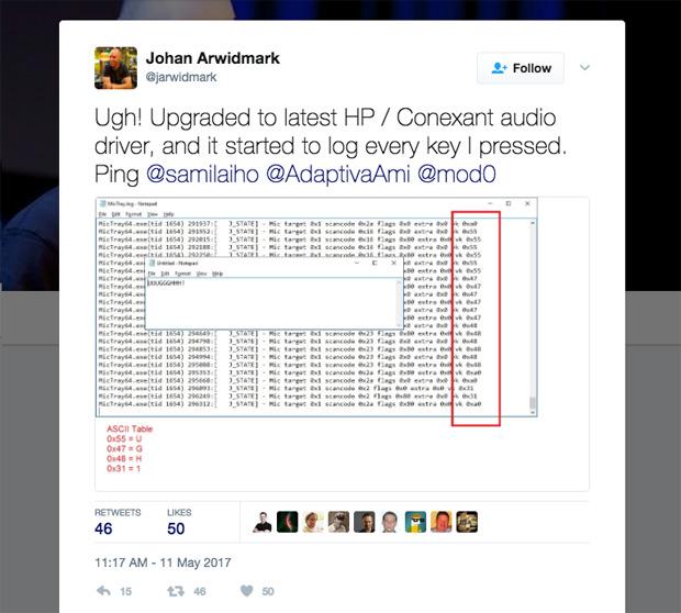 Faille : un « keylogger » découvert sur certains PC HP [MAJ] - 2017 - 2018