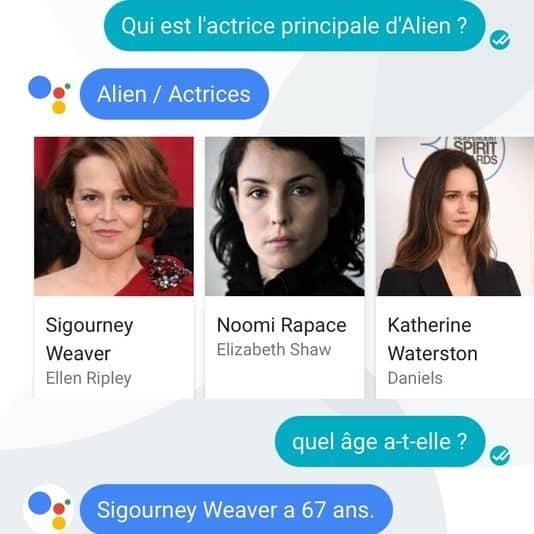 L'assistant virtuel de Google parle enfin français Google, Assistant personnel, Android, 4G Monitor