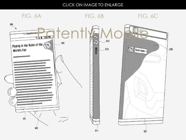Samsung : le prochain Galaxy Note enrobé d'un écran sur les deux faces ? [MAJ] Smartphone, Samsung, 4G Monitor