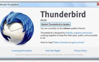 Thunderbird reste chez Mozilla… tant qu'il n'est pas un boulet pour Firefox