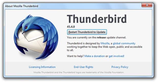 thunderbird reste chez mozilla tant quil nest pas un boulet pour firefox - Thunderbird reste chez Mozilla… tant qu'il n'est pas un boulet pour Firefox