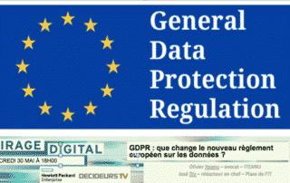Virage Digital : GDPR : que change le nouveau règlement européen sur les données ?