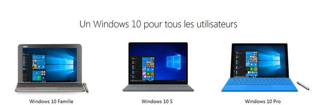 Windows 10 S : l'essentiel sur cette nouvelle édition de Windows - 2017 - 2018