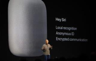 Apple gardera le secret sur les conversations avec Siri et HomePod