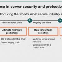 HPE ajoute un 'root of trust' de silicium à ses serveurs Gen 10 ProLiant