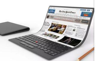 Lenovo fait le buzz avec son concept de PC à écran flexible
