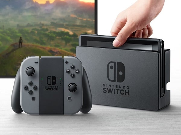 Nintendo Switch : le million au Japon Nintendo Switch, Nintendo