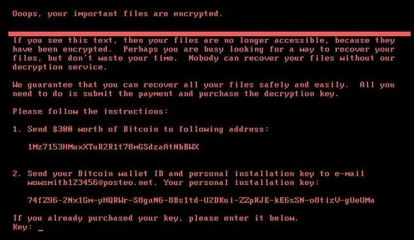 Ransomware NotPetya : les entreprises chiffrent leurs lourdes pertes - 2017 - 2018