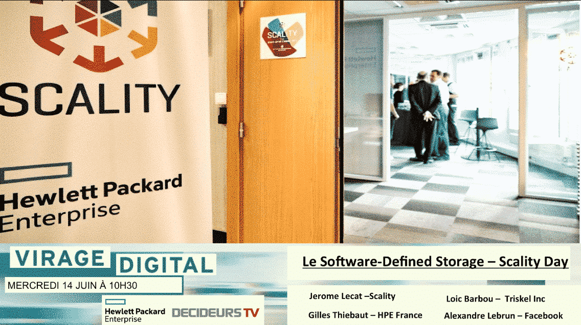 virage digital le software defined storage scality day - Virage Digital : Le Software-Defined Storage - Scality Day