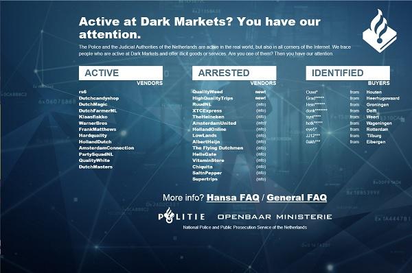 Alphabay, Hansa : coup de filet monstre sur les marchés noirs Sécurité, Cybercriminalité, Cyberattaques