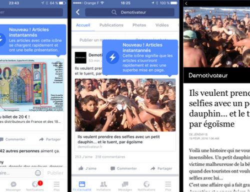 Facebook : Instant Articles pourra devenir payant