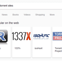 Google fait la promo par erreur de trackers illégaux BitTorrent