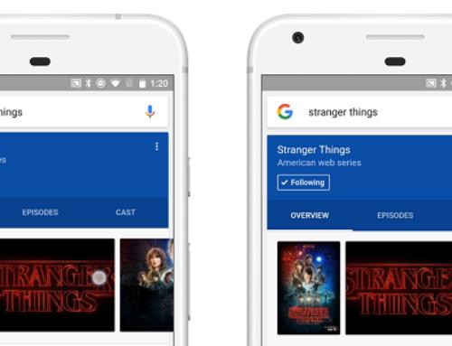 Google inaugure son fil d'actualités basé sur les recherches de l'utilisateur