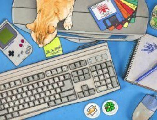 Kaspersky: Quiz : La vie numérique 20 ans en arrière
