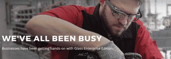 les google glass font leur retour dans une version dediee aux entreprises maj - Les Google Glass font leur retour dans une version dédiée aux entreprises
