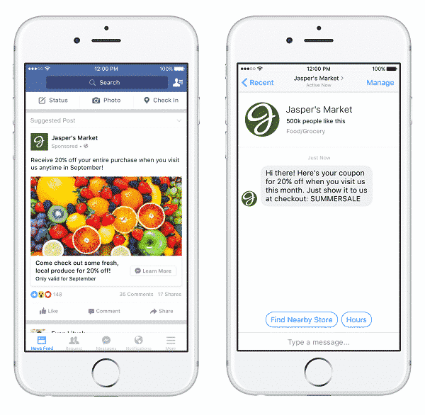 Messenger : Facebook veut plus de pub [MAJ] Publicité, Messagerie instantanée, Facebook