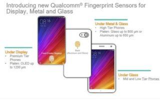 SnapDragon Sense ID : Qualcomm règle le problème du capteur d'empreintes sous l'écran