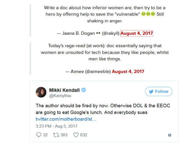 1502166470 381 le manifeste anti diversite dun ingenieur de google provoque lindignation - Le manifeste anti-diversité d'un ingénieur de Google provoque l'indignation